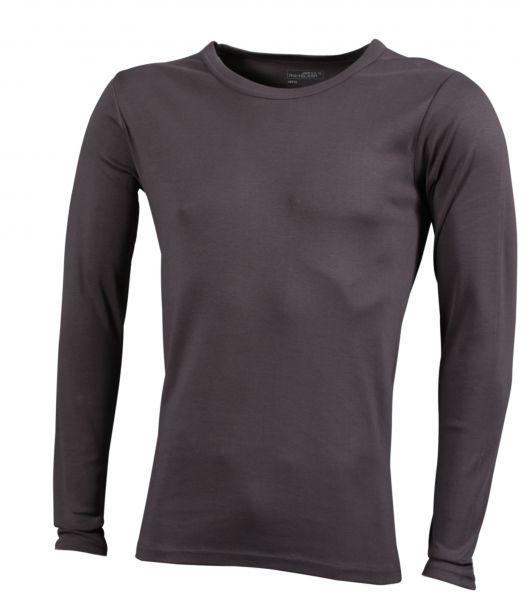 d3e70c83037bf4 T-Shirt Herren Langarm als Werbegeschenk für 11