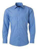 Men's Shirt Longsleeve Poplin