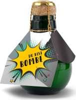 Kleinste Sektflasche der Welt! Du bist Bombe - ohne Geschenkkarton, 125 ml
