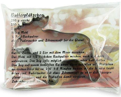 Backförmchen-Winter Werbetuete - Elch