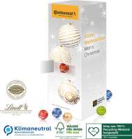 Adventskalender Lindt Turm, Klimaneutral, FSC®, Inlay aus 100% recyceltem Material