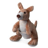 Plüsch Känguru Horst - das kuschelige Beuteltier aus Down-Under!