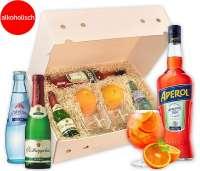 Geschenkbox Aperol Spritz-Cocktail