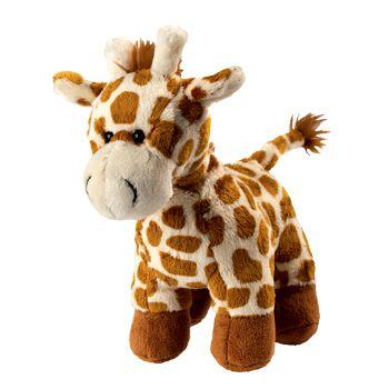 Plüsch Giraffe Carla - mit großem Herz für Kuschelbedürftige!