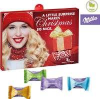 Premium Präsent-Adventskalender BUSINESS mit Milka Zarte Momente