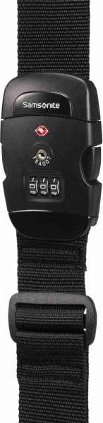 Samsonite LUGGAGE STRAP/ Koffergurt 50mm TSA Schloss