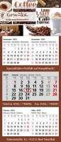 5 Monats-Wandkalender Combi 5, 4-spachig