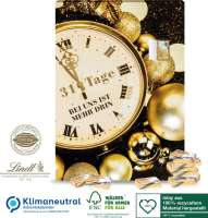 Adventskalender Lindt mit 31 Türchen, Klimaneutral, FSC®, Inlay aus 100% recyceltem Material
