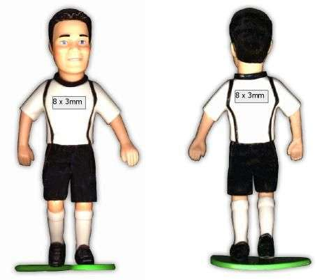 """KICK & FUN """"Libero"""" 6 cm mit Ball"""