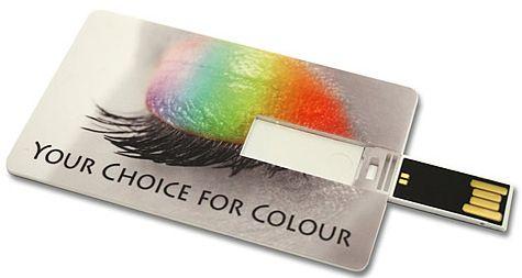 64GB Memory-Stick Credit Card 2.0