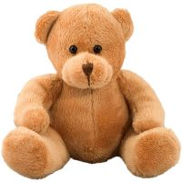Plüsch Bär Yogi ist aus superweichem Plüsch gefertigt - der Kurzfell-Kuschelbär!