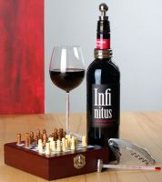 Weinpräsentset Schach!