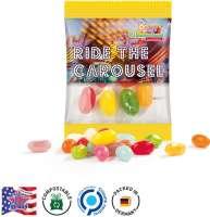 Jelly Beans, kompostierbare Folie