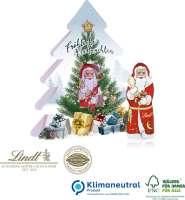 Lindt Weihnachtsbaum mit Nikolaus, Klimaneutral, FSC®