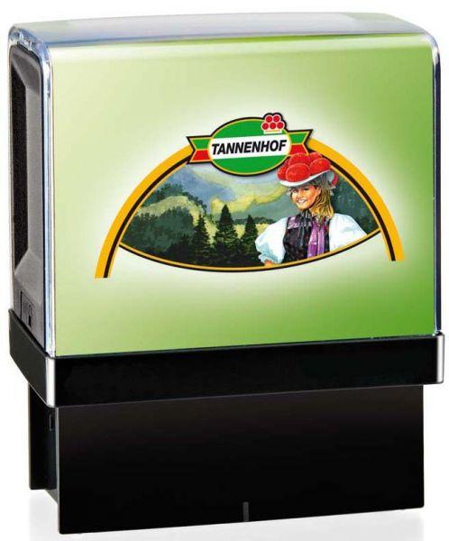 Stempelautomat Green Line mit Digitaldruck