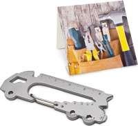 Präsentartikel: ROMINOX® Key Tool Truck - LKW (22 Funktionen) im Motiv-Mäppchen Werkzeug