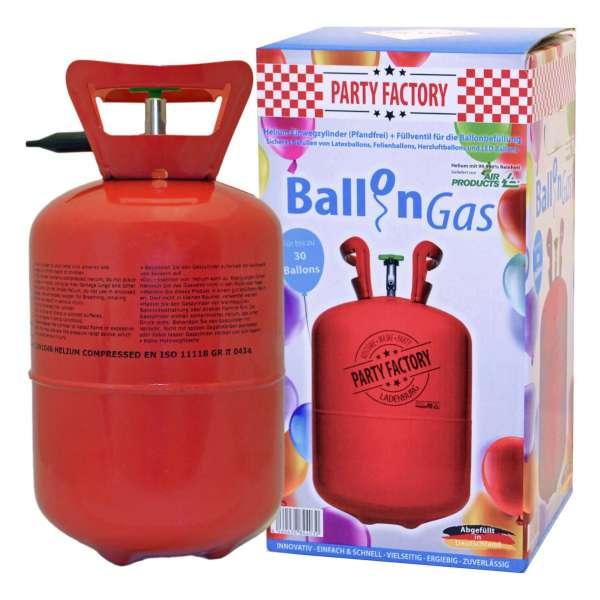 Ballongas Helium 0,25 m³