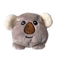 Schmoozies® Koala, das Kugeltier, Unterseite aus Mikrofaser ist vielseitig einsetzbar.