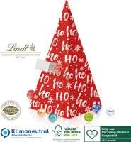 Adventskalender Lindt Weihnachtspyramide, Klimaneutral, FSC®, Inlay aus Recycling-Material hergestel
