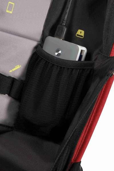 """Samsonite Securipak Rucksack 15,6"""" Sicherheitsrucksack aus Recyclex RPET"""