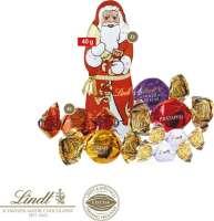 Lindt Süße Präsentbox Weihnachten Maxi, Klimaneutral, FSC®