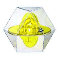 transparent-gelb