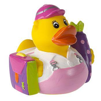 Quietsche-Ente Erstklässlerin