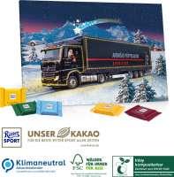 Tisch-Adventskalender Ritter SPORT, Klimaneutral, FSC®, Inlay kompostierbar