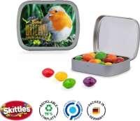 Klappdose Skittles Kaubonbons, Druck