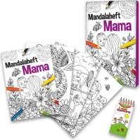 Malbuch Set Entspannung für Mama