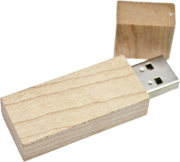 8GB USB Stick 2 USB 2.0 natur 8 GB