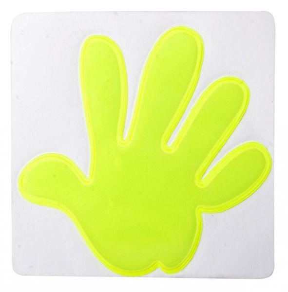 Reflektor-Aufkleber, Hand Astana