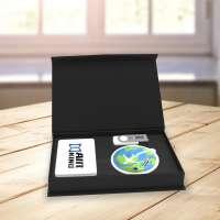 Travel gift set Powerbank, Kofferanhänger, USB-Stick