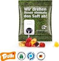 Fruchtsaft Gummibärchen Minitüte 15g, kompostierbare Folie