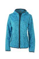 Ladies' Knitted Fleece Hoody