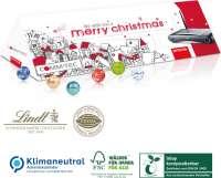 Adventskalender Lindt Office Premium, Klimaneutral, FSC®, Inlay kompostierbar