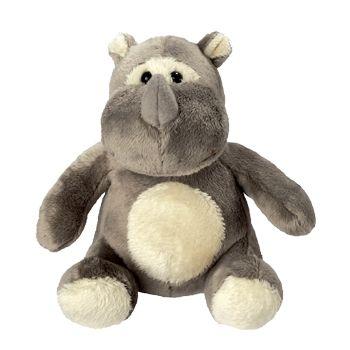 Plüsch Nashorn Leif - der sanftmütige Dickhäuter, jederzeit zum Kuscheln bereit!