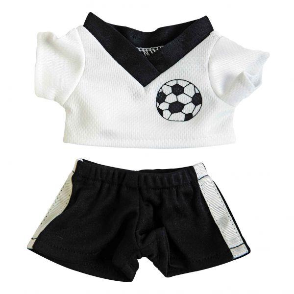 Fußball-Dress, zum Anziehen von Plüschartikeln.