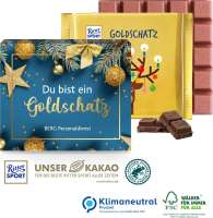 Ritter SPORT Goldschatz, 145 g, Klimaneutral, FSC®
