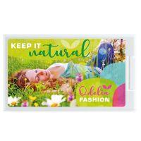 Cool Card® kompostierbarer Pfefferminzspender vegan