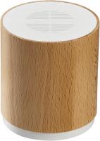 Ökologischer Bluetooth Lautsprecher mit 5 Watt aus nachhaltigem Buchenholz