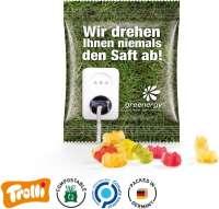 Fruchtgummi Minitüte 10g, Premium Bärchen, kompostierbare Folie