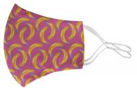 CreaMask Adjust individuelle Gesichtsmaske mit weißen verstellbaren Ohrschlaufen