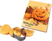 Backe Deinen Halloween Kürbis, 1-4 c Digitaldruck inklusive orange