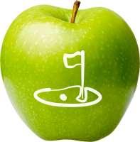 Logo Frucht Motiv-Äpfel