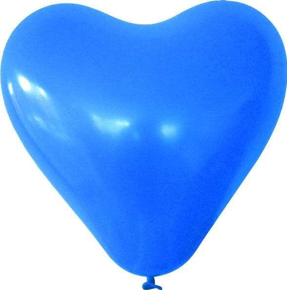 Herzballons mit 1c-Werbedruck