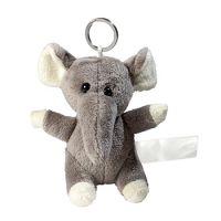 Plüsch Schlüsselanhänger Elefant - Kuscheln für unterwegs!