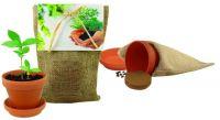 Pflanze Deinen Baum Natur-Säckchen, Robinie, 1-4 c Digitaldruck inklusive