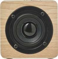 Lautsprecher 'Kubus' aus Holz