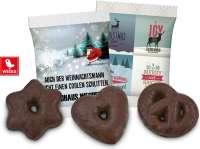 Mini Dreierlei Lebkuchengebäck im Werbetütchen mit 4c Druck